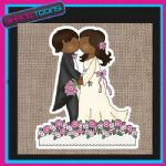 WEDDING IDEA BRIDE JUTE SHOPPING LADIES GIFT BAG 001